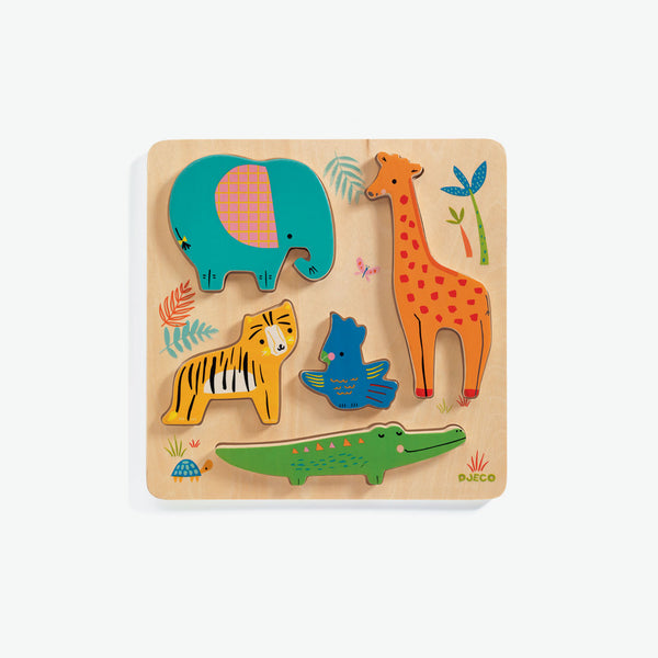Woody Puzzles - Jungle