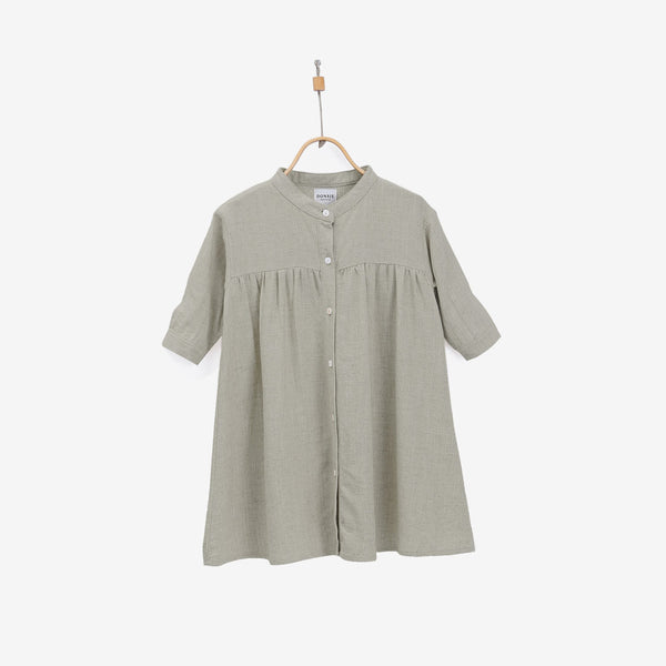 Jenna Linen-Cotton Dress