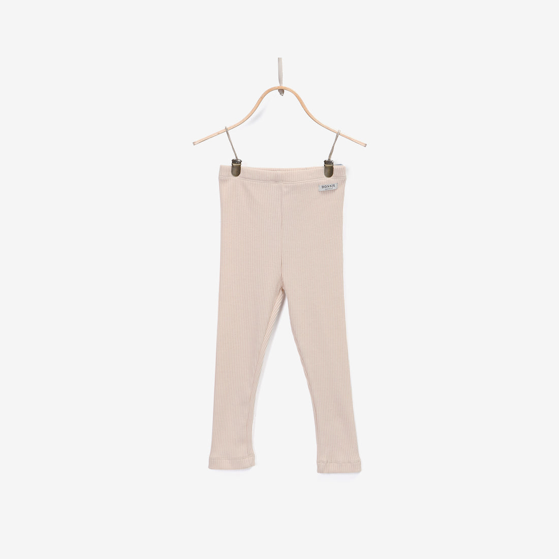 Lucy Ribbed Leggings - Shell Pink