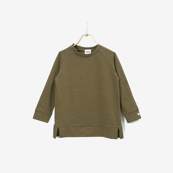 Stevi L/S Cotton Shirt - Winter Moss