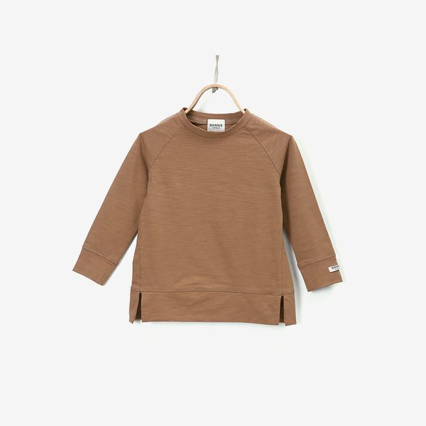 Stevi L/S Cotton Shirt - Mocha Bisque