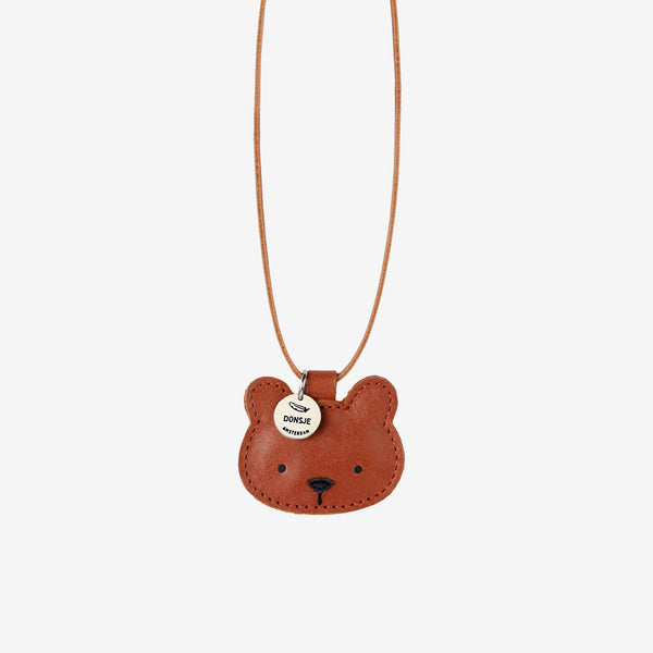 WOOKIE Leather Necklace - Bear