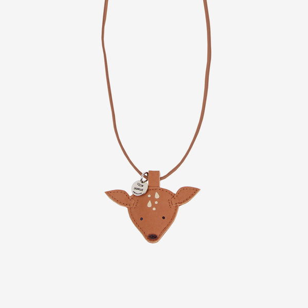 WOOKIE Leather Necklace - Fawn