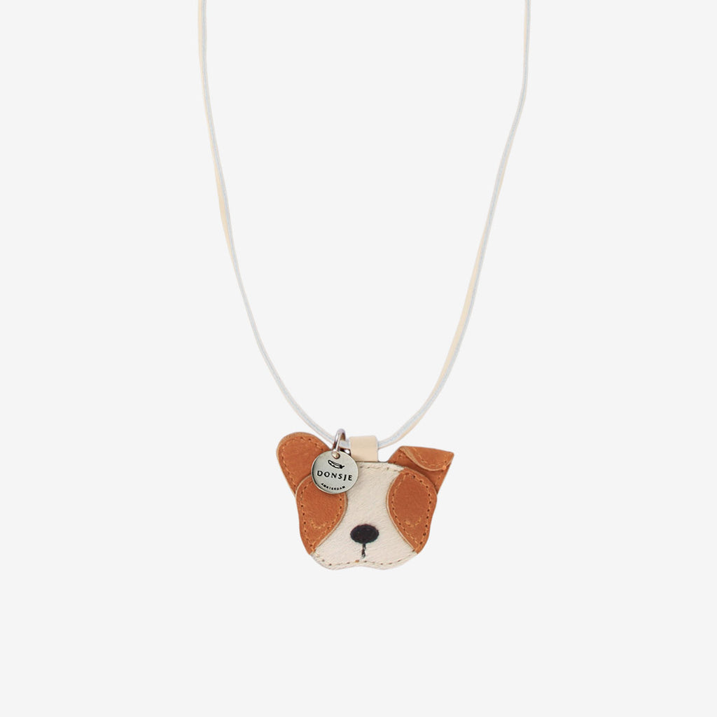 WOOKIE Leather Necklace - Pug