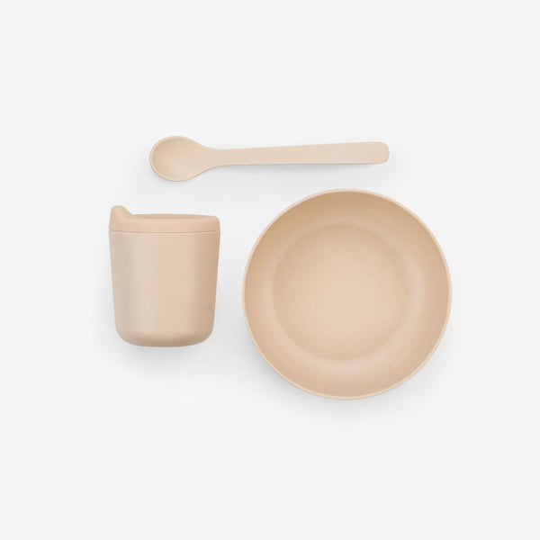 Bambino Bamboo Feeding Set - Blush