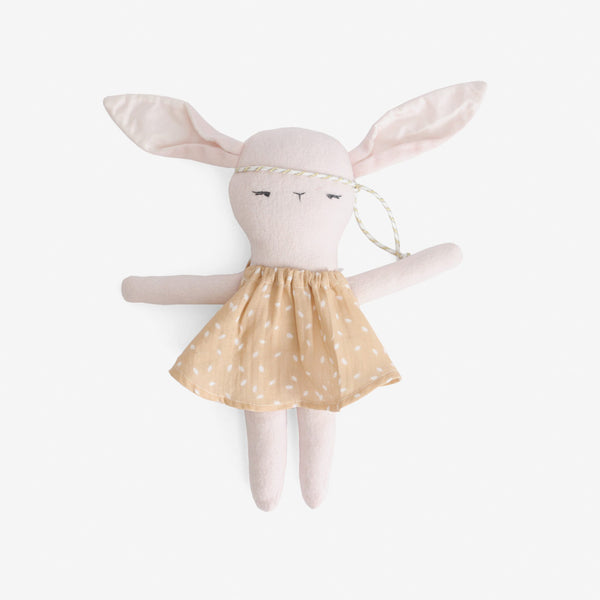 Bonjour Bunnies - Pink in Rylee+Cru Dress