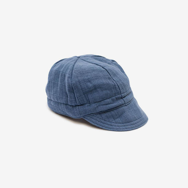 Newsboy Cap - Ocean Blue