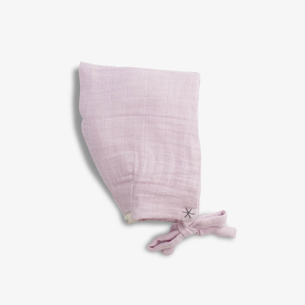 Organic Pixie Hat - Pink Lilac