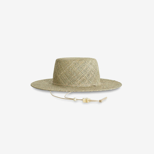 Luna Seagrass Straw Hat