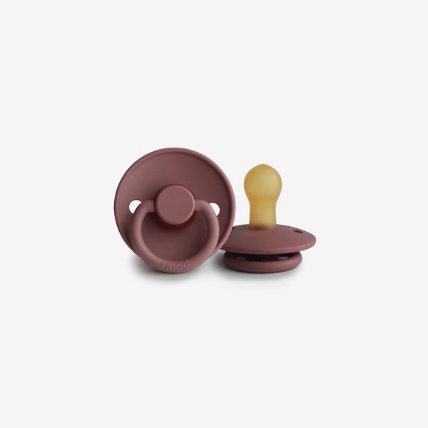 FRIGG Natural Rubber Pacifier - Woodchuck