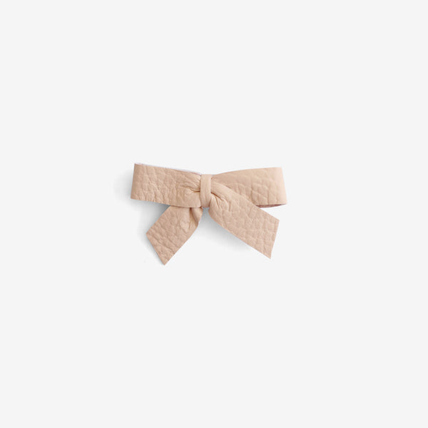 Anne Leather Bow Clip - Sown