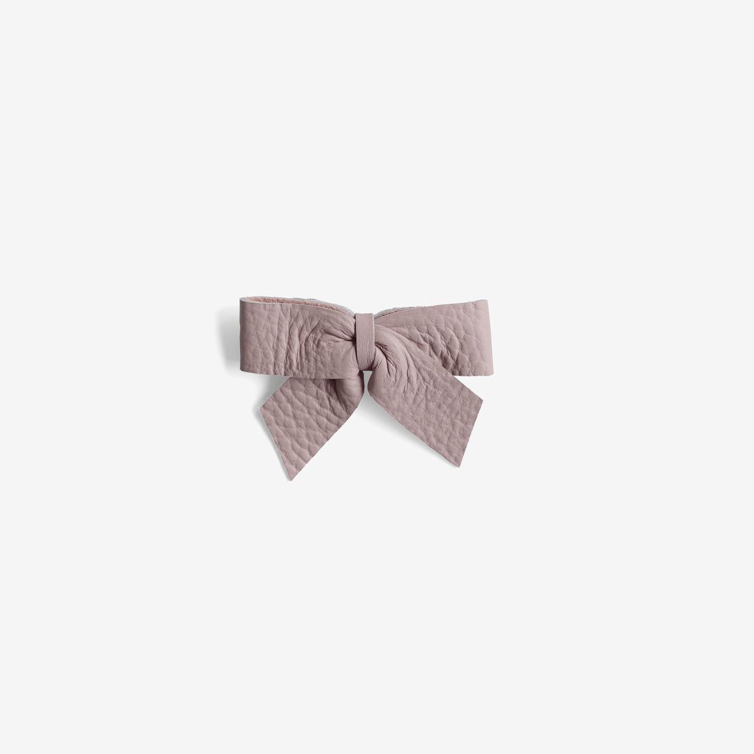 Anne Leather Bow Clip - Wander