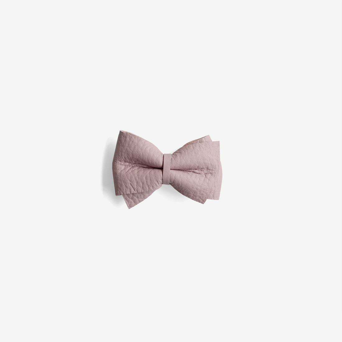 Blaire Petite Leather Bow Clip - Wander