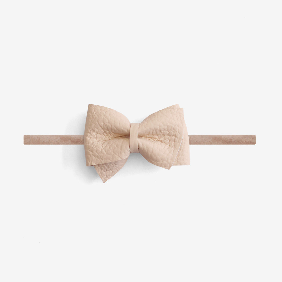 Blaire Petite Leather Bow Headband - Sown