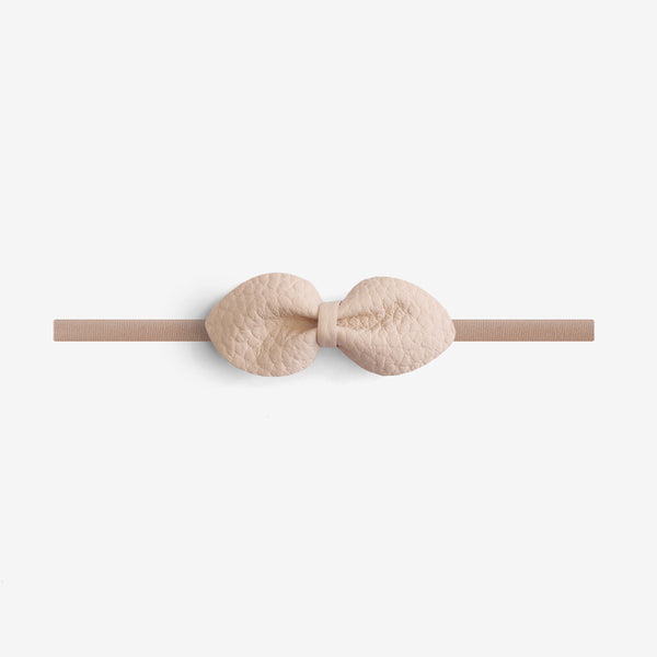 Brooke Leather Bow Headband - Sown