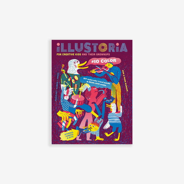 Illustoria Magazine - Issue 10: Color
