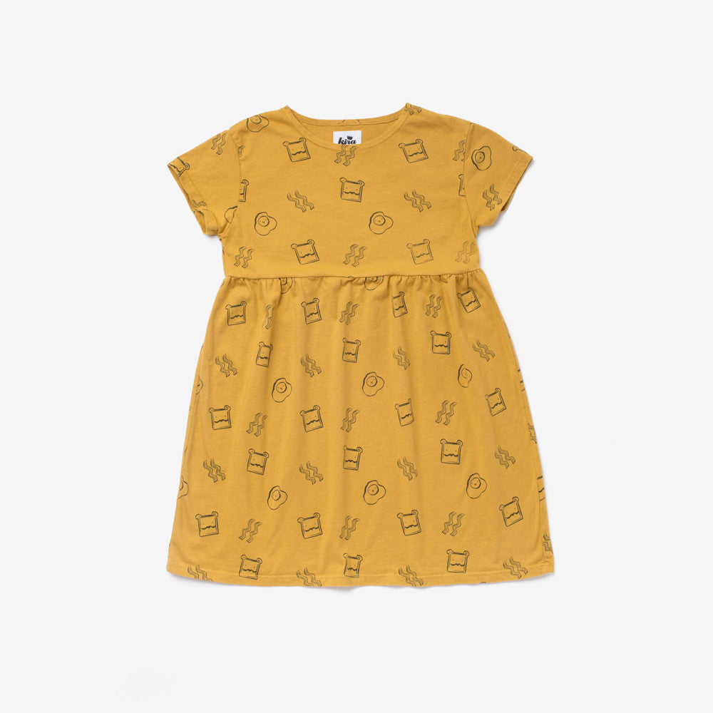 Brunch Organic Baby Doll Dress