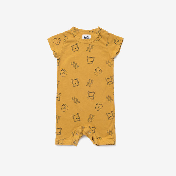 Brunch Organic Short Romper