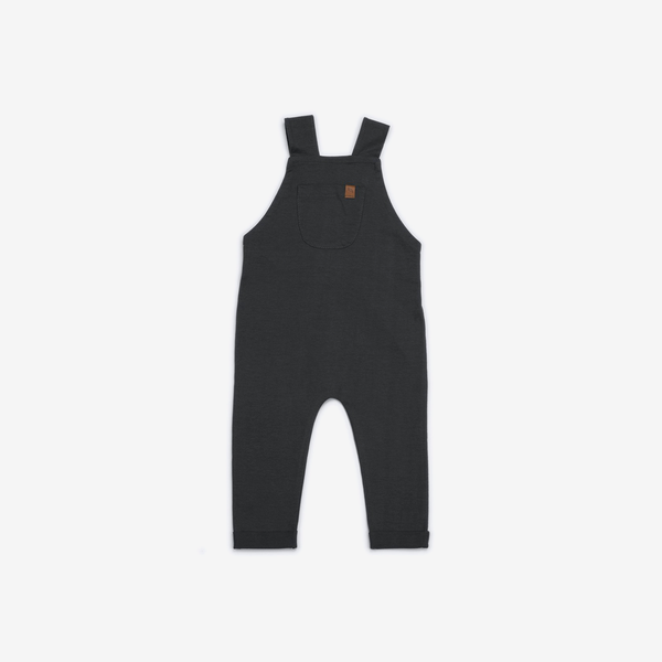 Organic Jersey Overalls - Storm