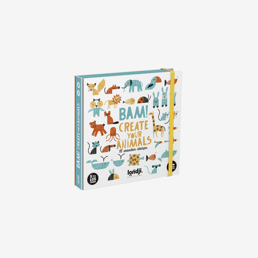 BAM! Stamp Set - Animals