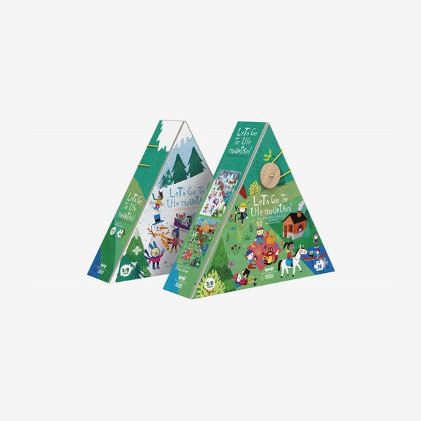 Reversible Puzzle - Let's Go to the Mountains 36-Piece