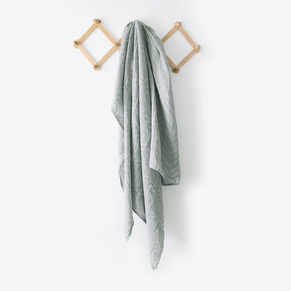 Cotton Muslin Swaddle Blanket - Desert Sage