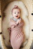 Stretch Swaddle - Dusty Rose
