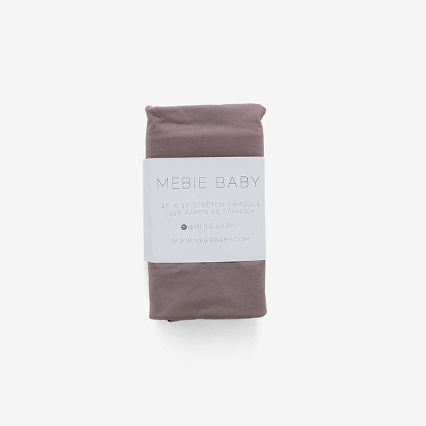 Stretch Swaddle - Dusty Plum