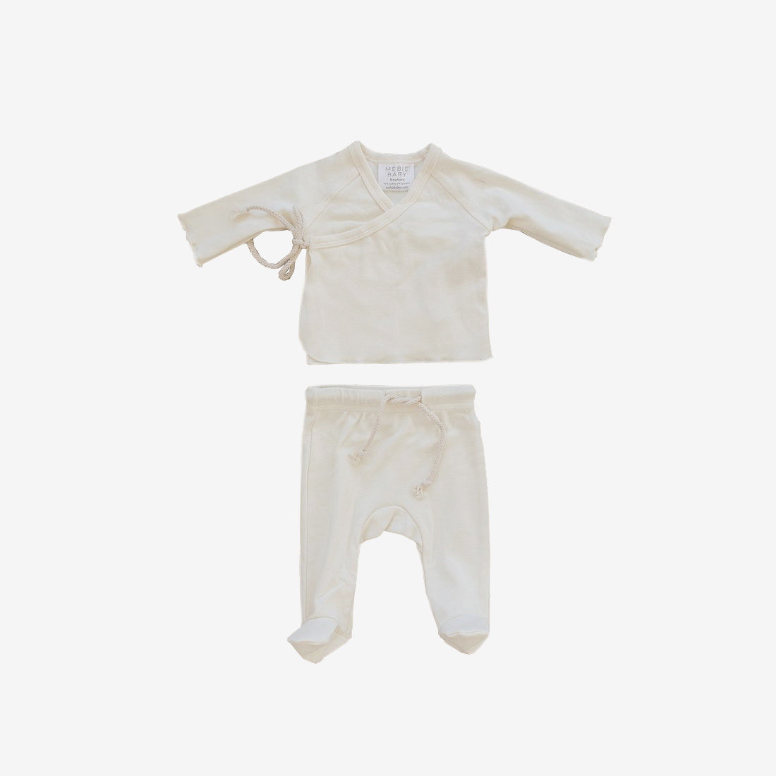 Cotton Jersey Layette Set - Cream
