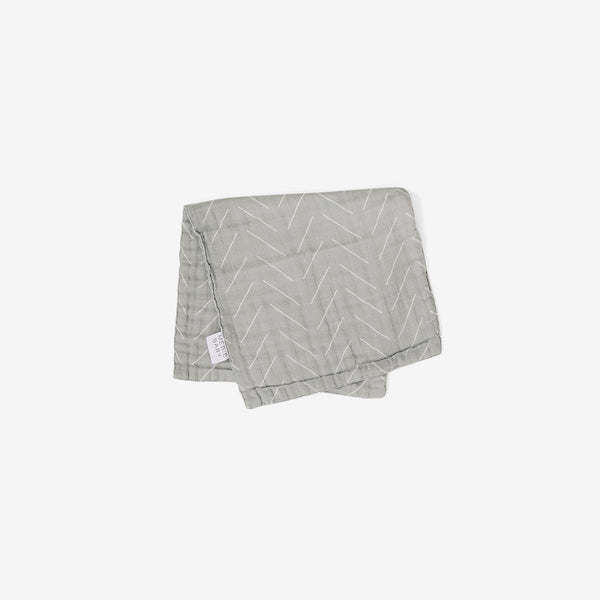 Cotton Muslin Burp Cloth - Desert Sage