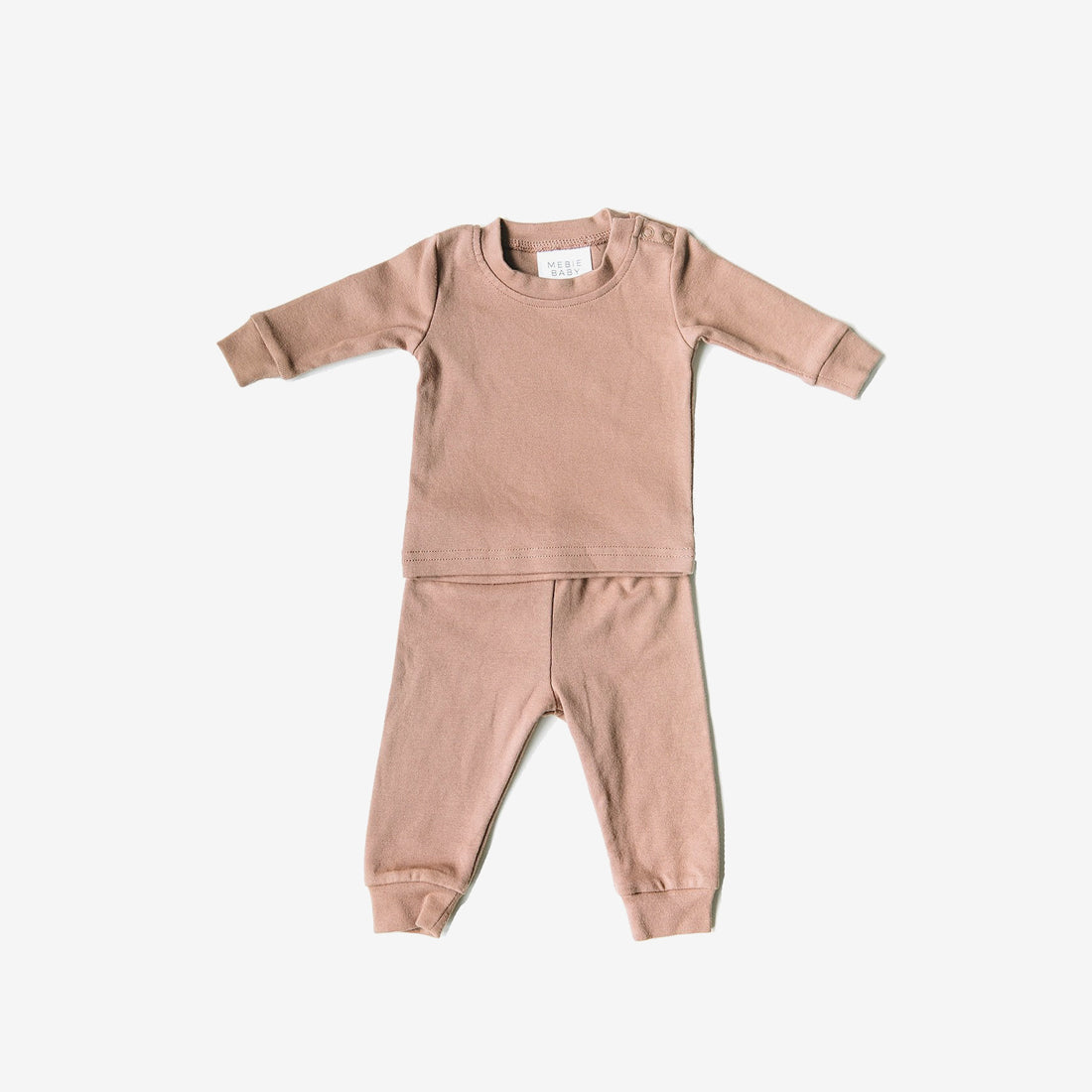 Cozy Cotton 2-Piece PJ Set - Blush