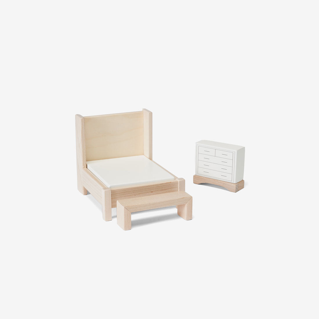 Dollhouse Furniture Set - Bedroom