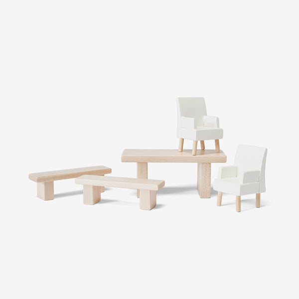 Dollhouse Furniture Set - Dining Room