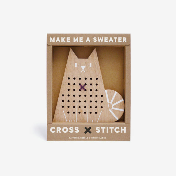 Cross-stitch Friends - Cat