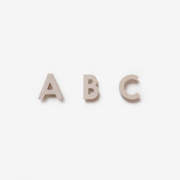 Alphabet Soup Wall Hooks - ABC