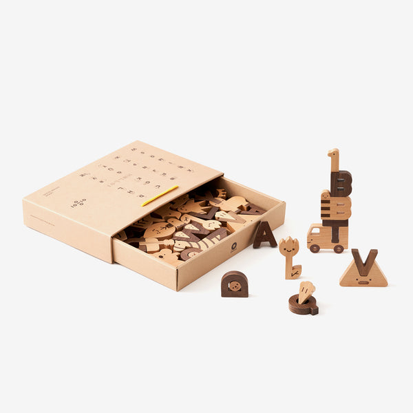 OiOiooi Alphabet Play Blocks