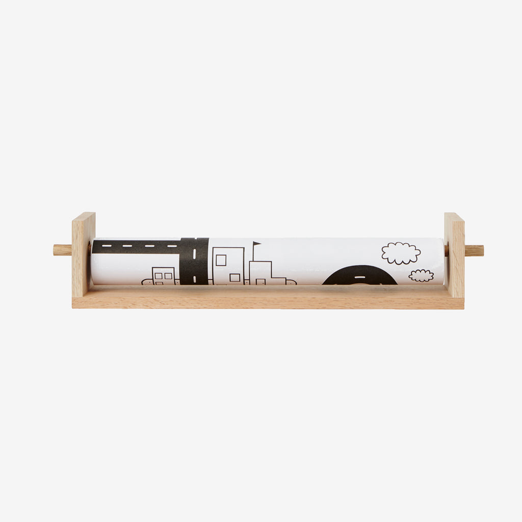 Pollie Paper Roll Holder & Shelf
