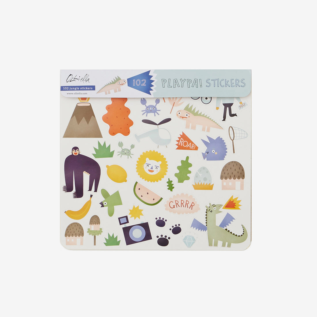 Playpa Sticker Set - Jungle