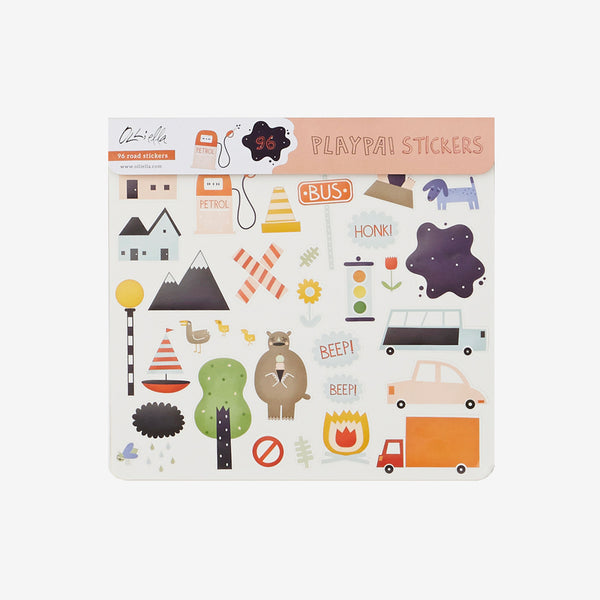 Playpa Sticker Set - Roads