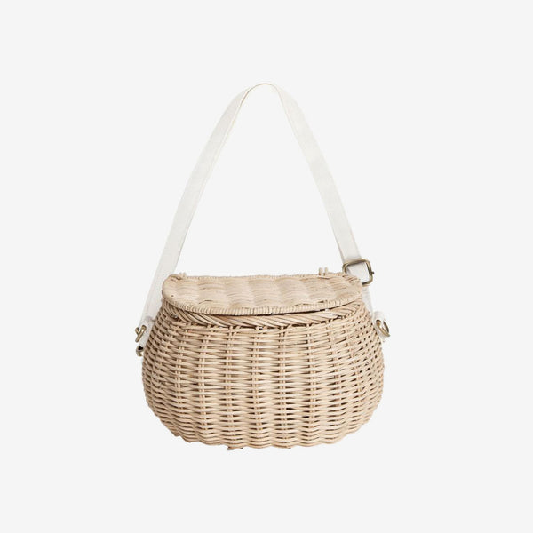 Chari Mini Bike Basket - Straw
