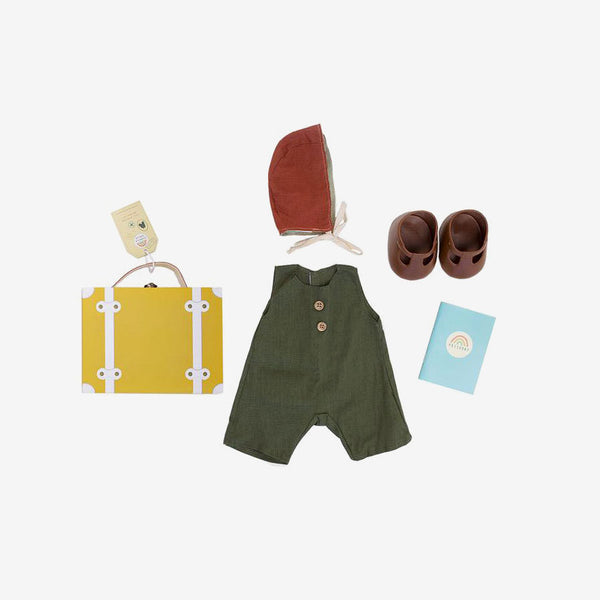 Dinkum Doll Travel Togs - Mustard