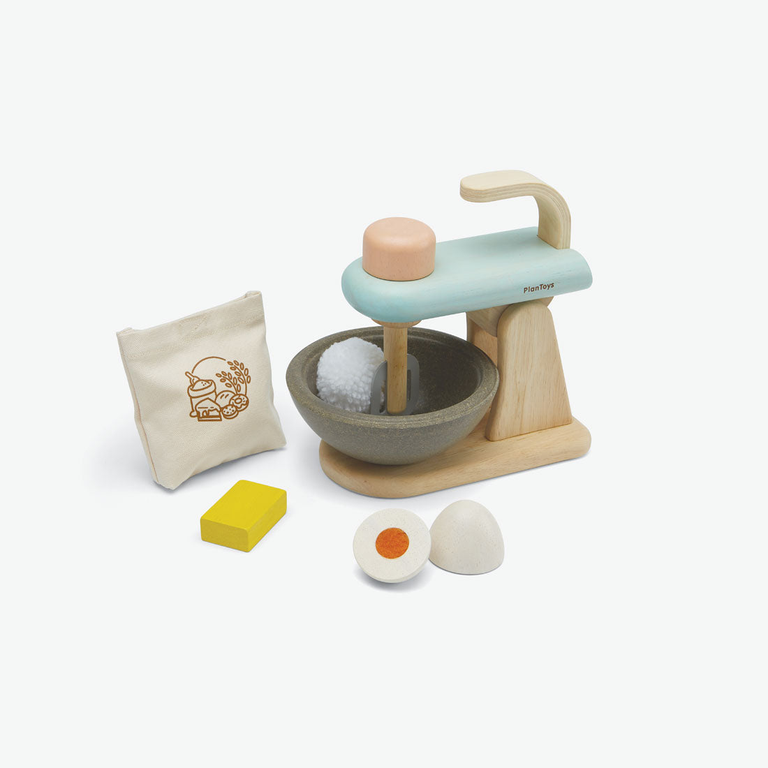 Pretend-Play Stand Mixer Set
