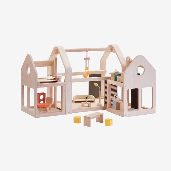 Slide N Go Dollhouse with Furniture