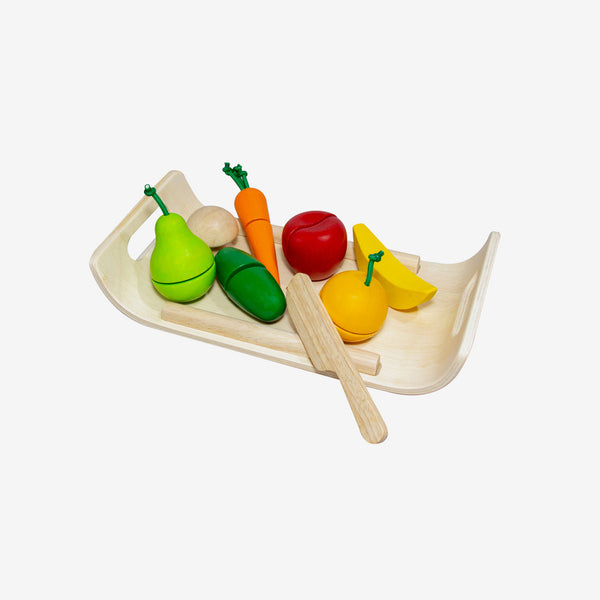 Play Food - Fruit & Veggies Set