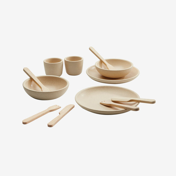 Pretend-Play Tableware 12-Piece Set