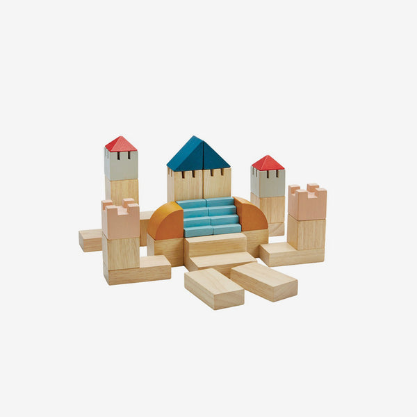 Wooden Blocks Creative Set - Orchard