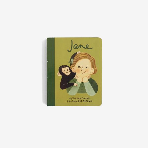 My First LPBD Board Book - Jane Goodall