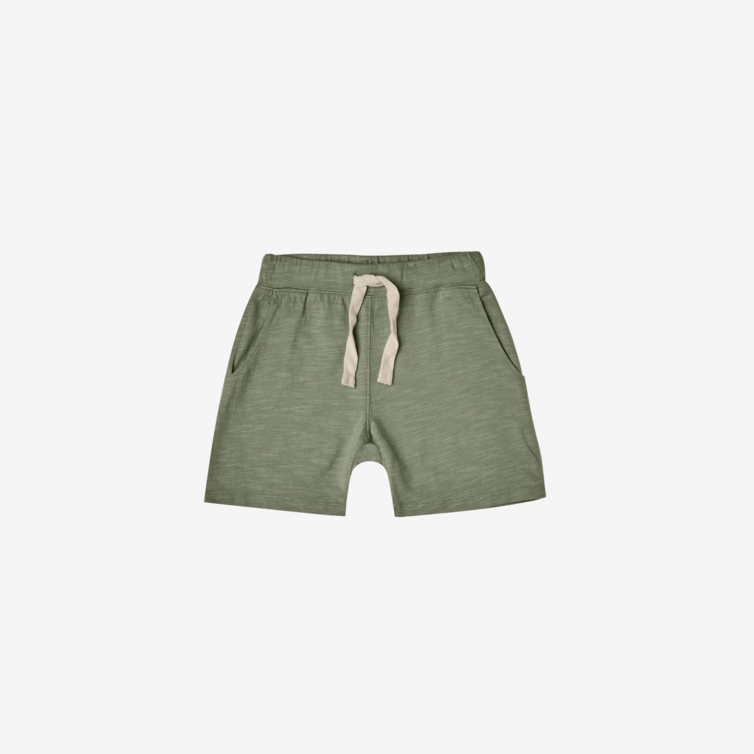 Cotton Slub Jersey Short - Fern