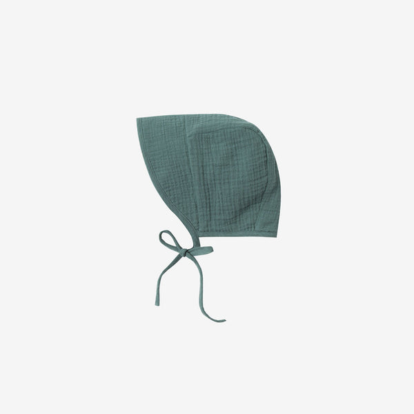 Rainforest Crepe Bonnet