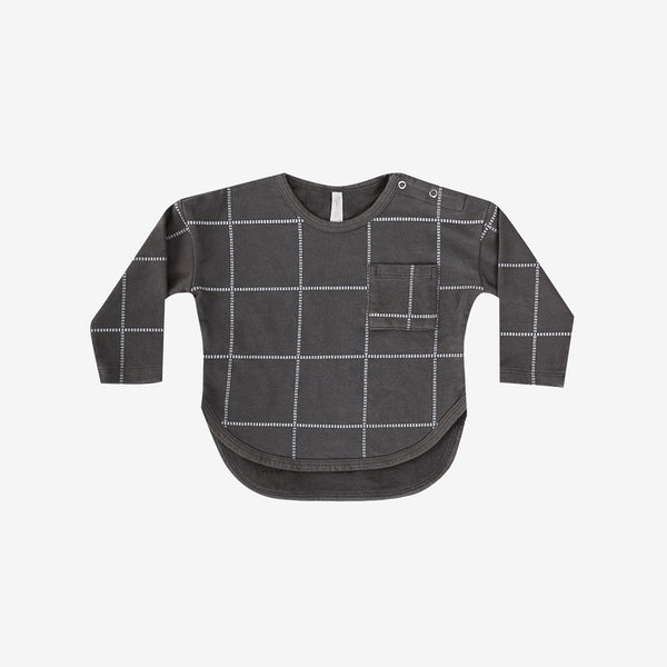 Grid Long-sleeve Tee